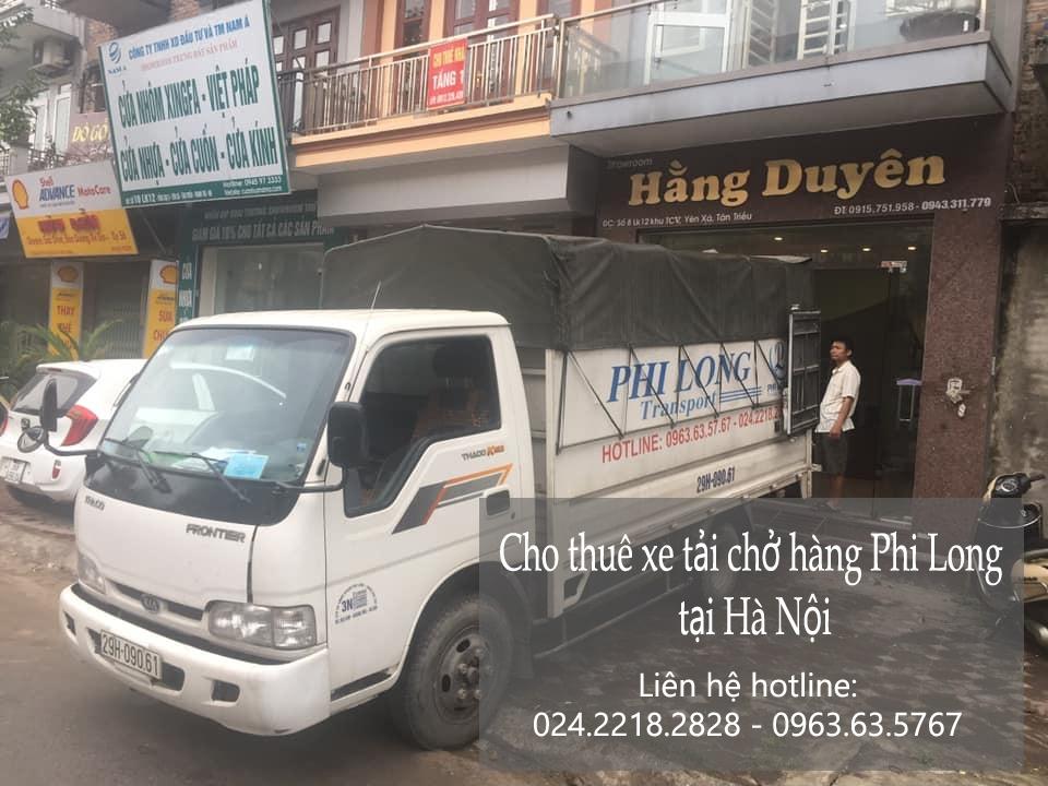 Dịch vụ thuê xe tải giá rẻ tại phố Hoàng Công Chất