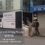 Dịch vụ cho thuê xe tải giá rẻ tại phố Thành Công 2019