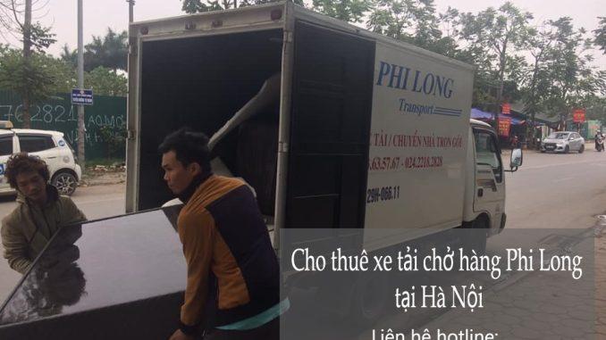 Dịch vụ cho thuê xe tải tại phố Lý Đạo Thành