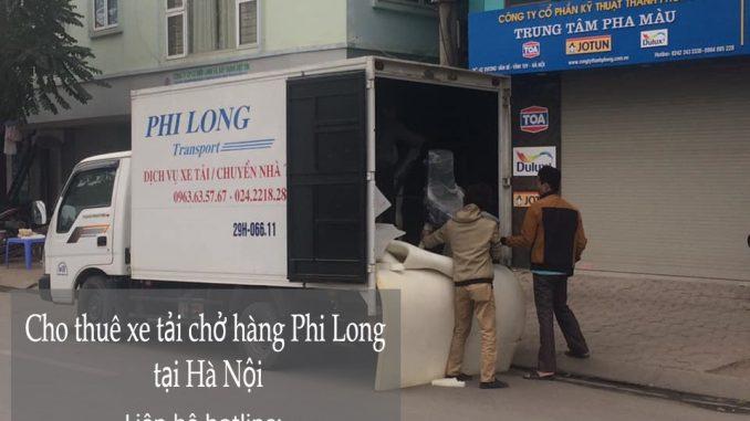 Dịch vụ cho thuê xe tải giá rẻ tại phố Thành Công