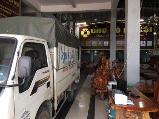 Taxi tải Phi Long tại phố Hà Trung