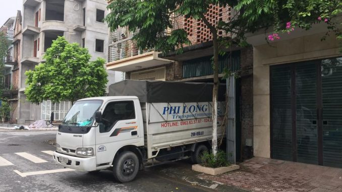 Dịch vụ thuê xe tải tại phố Đại Linh