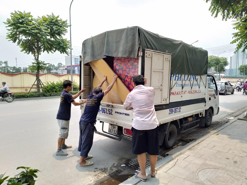 Dịch vụ thuê xe tải giá rẻ tại phố Viên