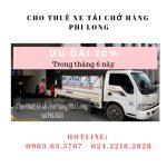 Cho thuê xe tải giá rẻ tại phố Mộ Lao giảm giá 20%