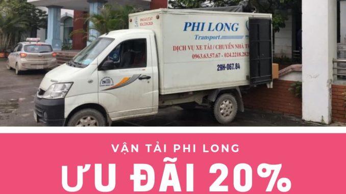 Dịch vụ thuê xe tải giá rẻ tại phố Nhật Chiêu