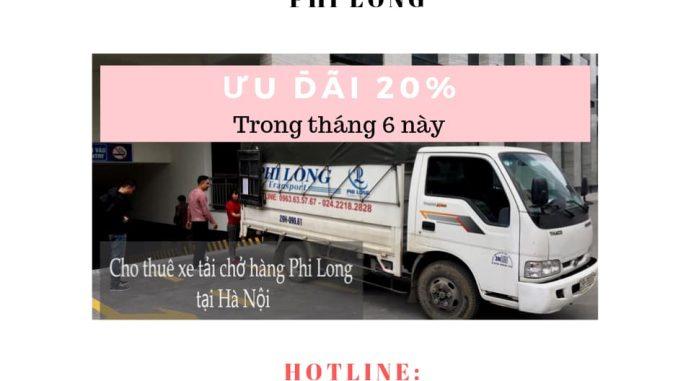 Dịch vụ cho thuê tải tại phố Mộ Lao