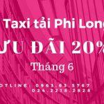 Cho thuê xe tải giá rẻ Phi Long tại phố Trưng Nhị