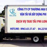 Dịch vụ thuê xe tải giá rẻ tại phố Kỳ Vũ 2019