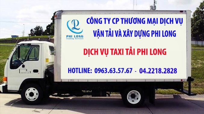Dịch vụ thuê xe tải Phi Long tại phố Kỳ Vũ