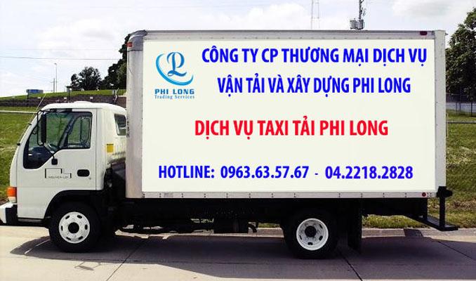 Thuê xe tải giá rẻ Phi Long tại đường Mai Động