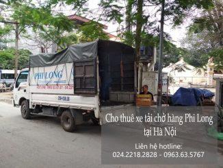 Thuê xe tải giá rẻ Phi Long tại phố Hàm Tử Quan