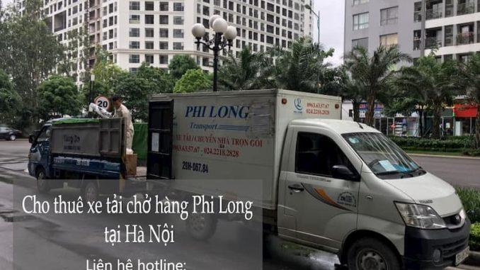 Dịch vụ thuê xe tải tại phố Cương Kiên