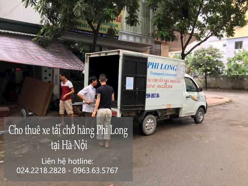 Dịch vụ thuê xe tải tại phố Hàng Chĩnh