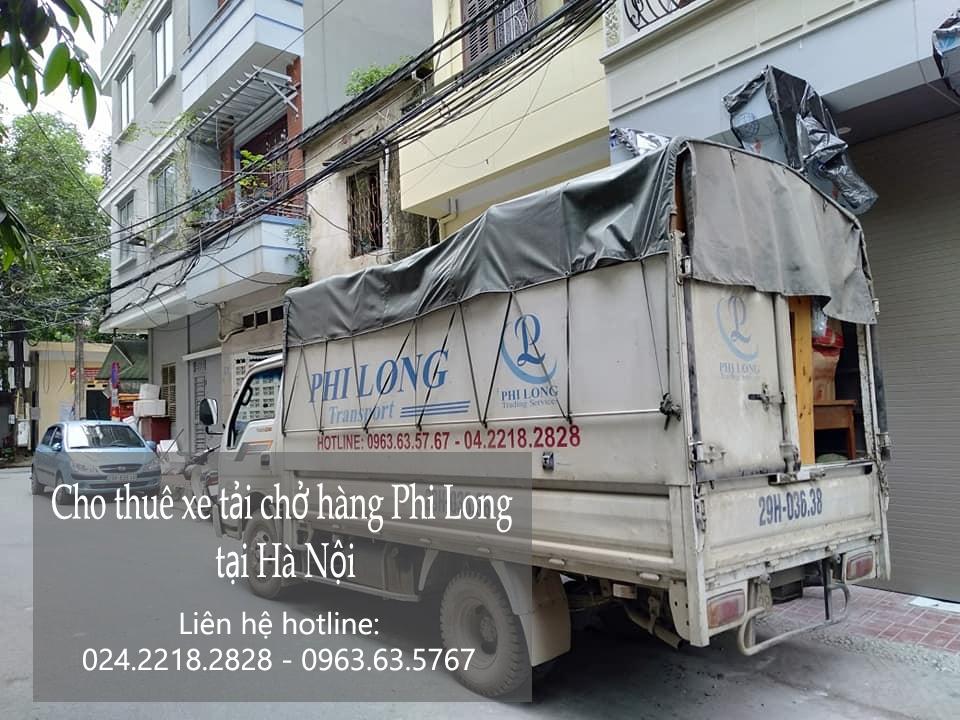 Dịch vụ thuê xe tải Phi Long tại phố Vĩnh Quỳnh