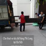 Dịch vụ thuê xe tải giá rẻ tại phố Phú Diễn