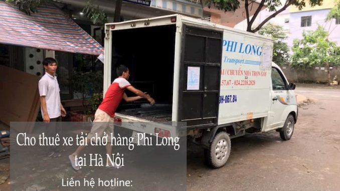 Thuê xe tải giá rẻ Phi Long tại phố Gia Biên