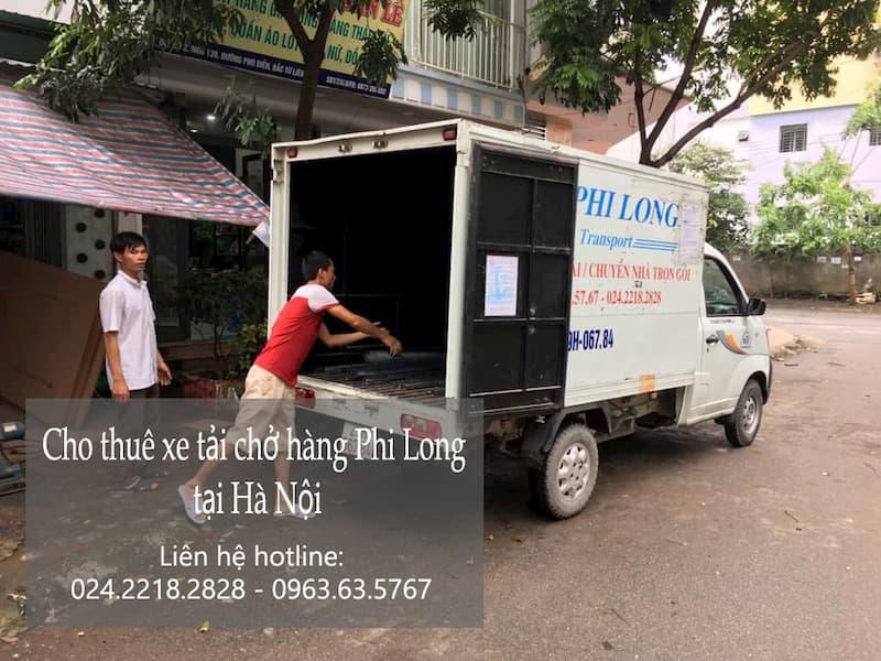 Thuê xe tải giá rẻ Phi Long tại phố Đào Văn Tập