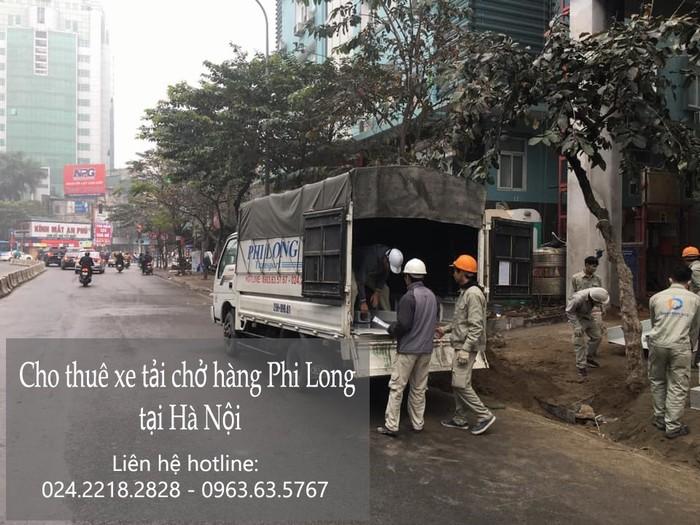 Dịch vụ thuê xe tải giá rẻ Phi Long tại phố Hội Xá