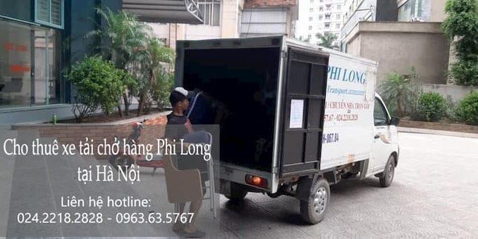 Dịch vụ thuê xe tải tại phố Hồng Quang