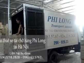Dịch vụ thuê xe tải tại phường Hàng Bông