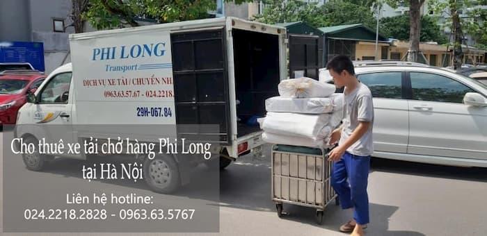Dịch vụ thuê xe tải tại phường Phan Chu Trinh
