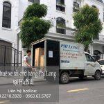 Dịch vụ thuê xe tải giá rẻ Phi Long tại phường Cầu Dền