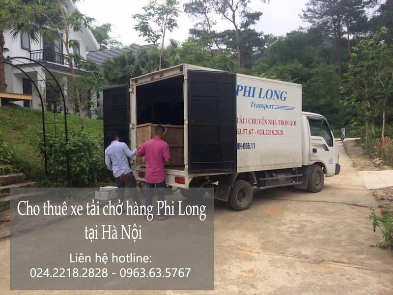 Dịch taxi tải uy tín Phi Long tại phố Cổ Nhuế