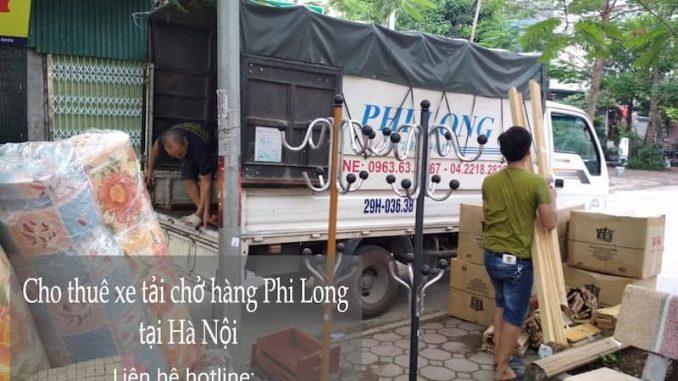 Dịch vụ cho thuê xe tải Phi Long tại phố Châu Văn Liêm