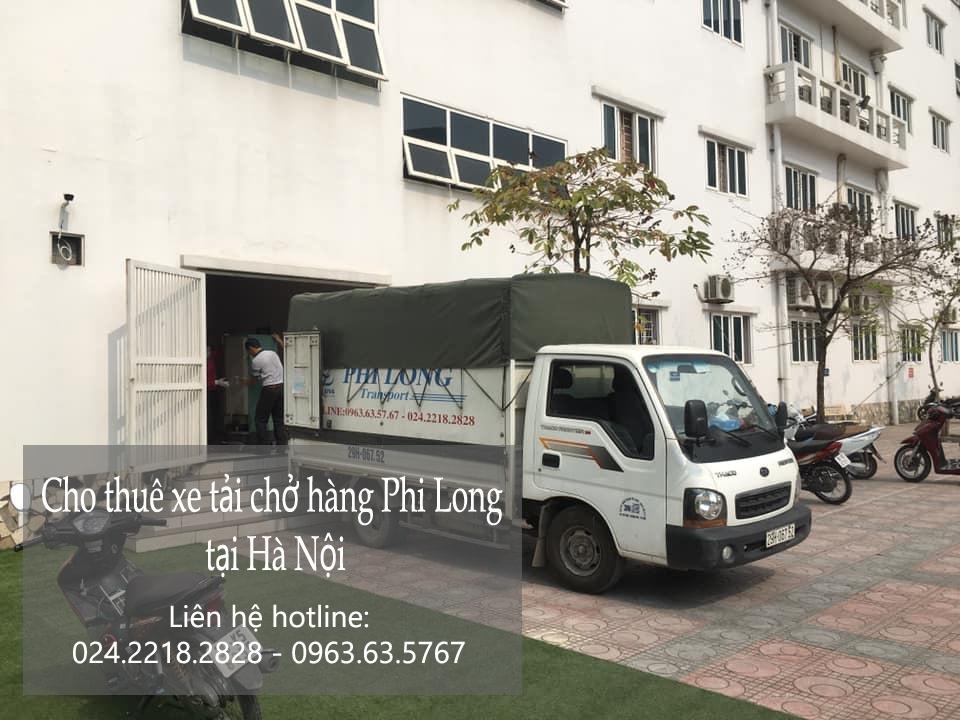 Cho thuê taxi tải uy tín Phi Long tại phố Đặng Thùy Trâm