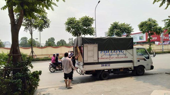 Cho thuê taxi tải uy tín Phi Long tại phố Duy Tân