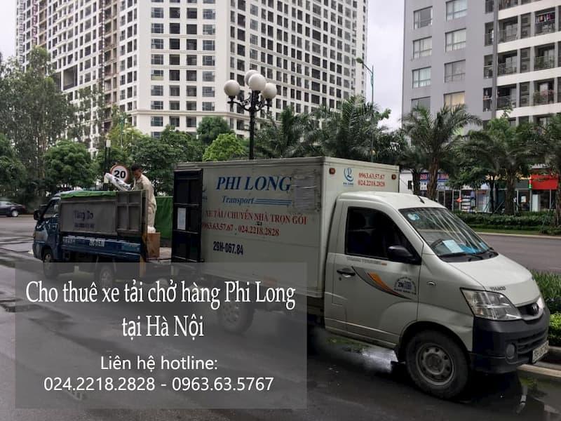 Dịch vụ xe tải Phi Long tại phố Hoàng Công Chất