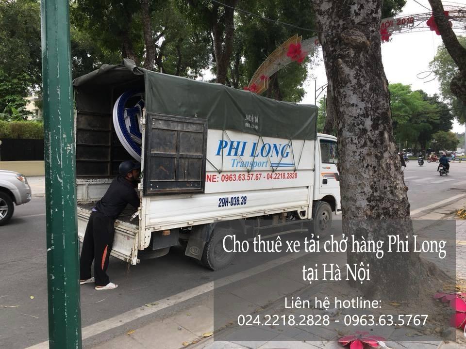 Dịch vụ cho thuê xe tải Phi Long tại đường Hồ Tùng Mậu