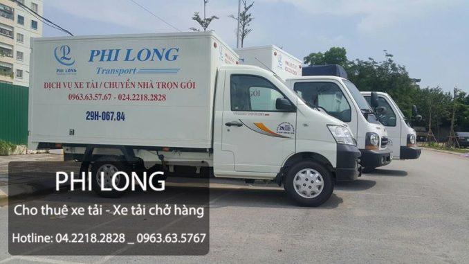 Dịch vụ thuê xe tải tại phường Phương Liên