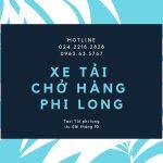 Dịch vụ xe tải giá rẻ Phi Long tại phố Kim Giang