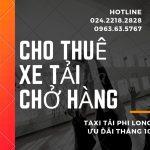 Dịch vụ thuê xe tải giá rẻ tại phường Đức Giang