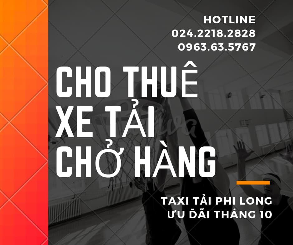 Dịch vụ thuê xe tải tại phường Đức Giang