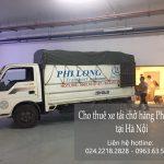 Dịch vụ taxi tải Phi Long chất lượng tại phố Mậu Lương