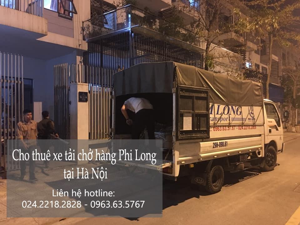 Dịch vụ thuê xe tải trọn gói Phi Long tại phố Dương Quang