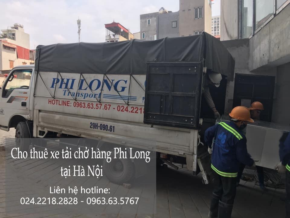 Dịch vụ thuê xe giá rẻ Phi Long tại phố Dương Hà