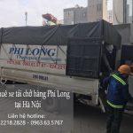 Dịch vụ thuê xe tải giá rẻ Phi Long tại phường Tây Tựu