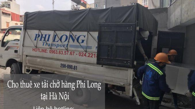 Hãng cho thuê xe tải chất lượng Phi Long tại phố Cao Lỗ