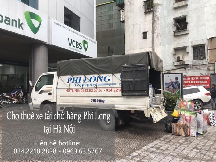 Hãng cho thuê xe tải Phi Long tại phố Đản Dị