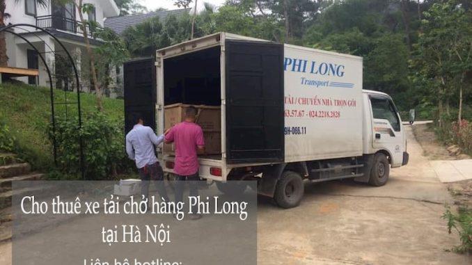 Thuê xe tải giá rẻ chất lượng cao Phi Long phố Chùa Một Cột