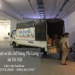Xe tải chở hàng tết giá rẻ Phi Long phố Hàng Than