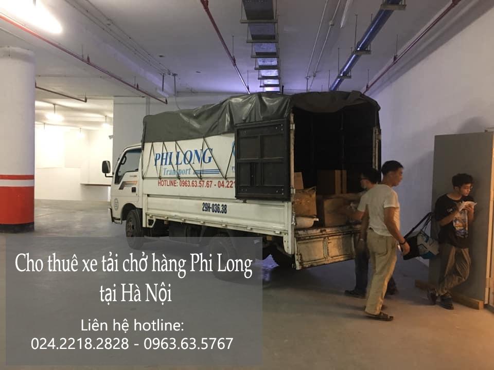 Hãng xe tải chở hàng tết Phi Long phố Giảng Võ