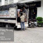 Xe tải chở hàng tết Phi Long phố Hoàng Diệu