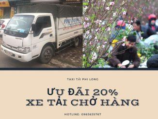 Dịch vụ cho thuê xe tải tại xã Võng La