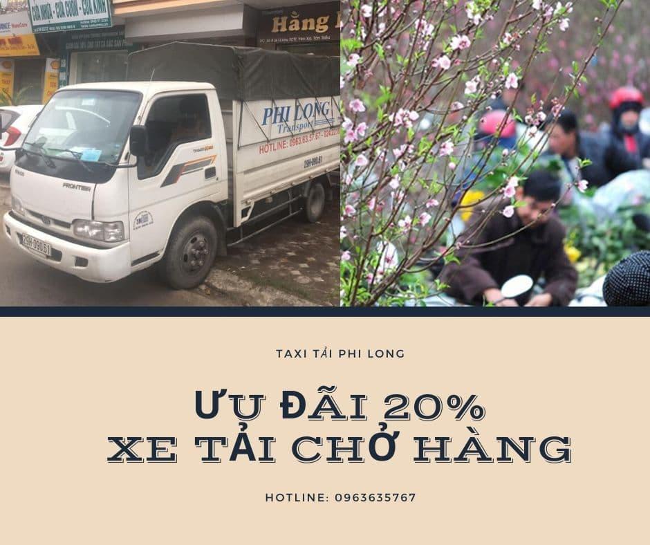 Dịch vụ cho thuê xe tải tại xã Việt Hùng