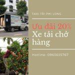 Dịch vụ cho thuê xe tải Phi Long tại xã Xuân Canh giảm giá 20%