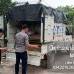 Cho thuê xe tải chất lượng phố Bảo Khánh